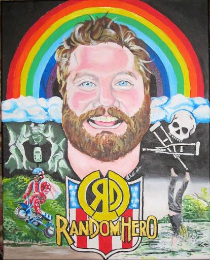 Random Hero Painting Art