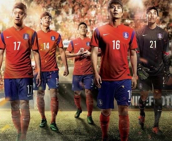 áo bóng đá hàn quốc