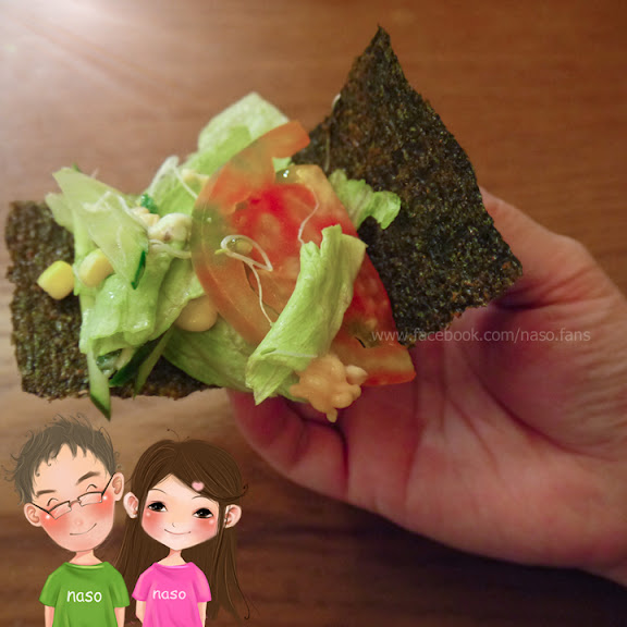 點圖查看Facebook討論:naso嫂減肥篇-海苔包彩色蔬菜