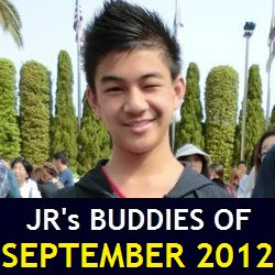 JR's Buddies of September 2012