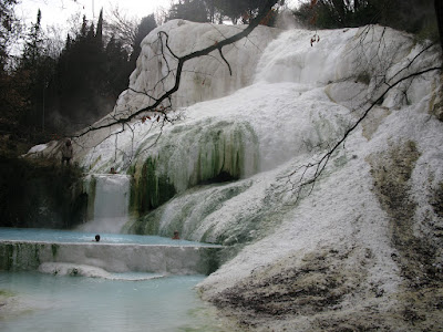 Bagni San Filippo's Natural Hot Springs in the Val d'Orcia