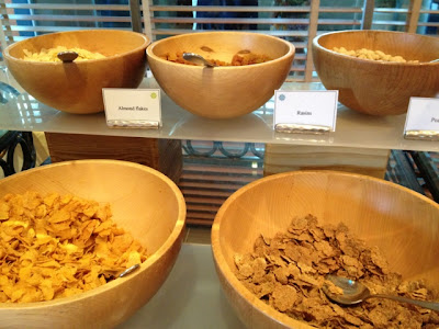 Cereals and nuts at Cafe Kranzler