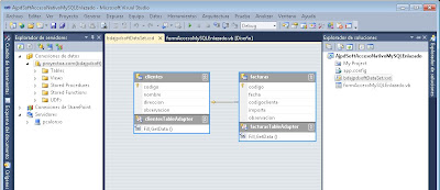 Agregar nuevo origen de datos para enlace de la solución VB.Net con MySQL Server