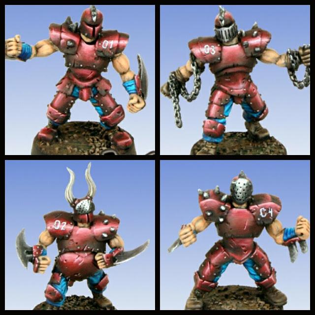 Neomix Guerreros del Caos Blood Bowl