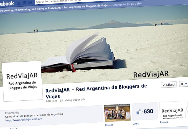 Red ViajAR en Facebook
