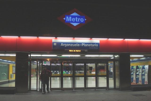 Estación de metro de Arganzuela- Planetario
