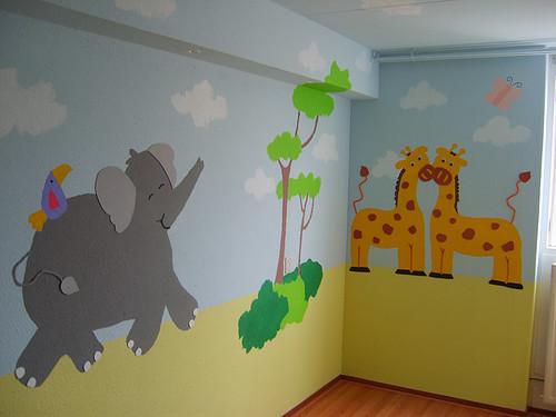 Babykamer Ideeen Babykamerideeen Zoals Behang Muurstickers En Pictures