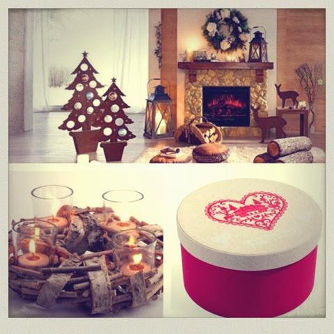 Inspirations 1 chalet d 39 hiver home sweet home - Couronne de noel maison du monde ...