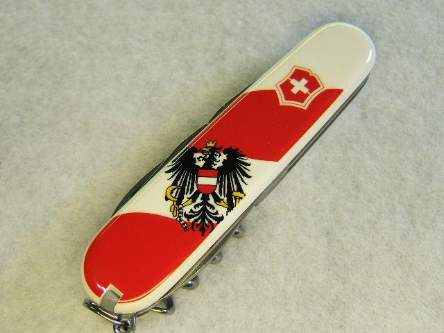 I Love Sak S Victorinox Spartan Austria Flag