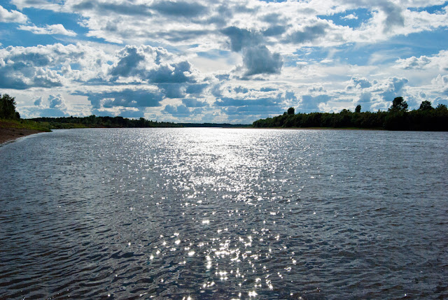 Знойный полдень на реке Вятке