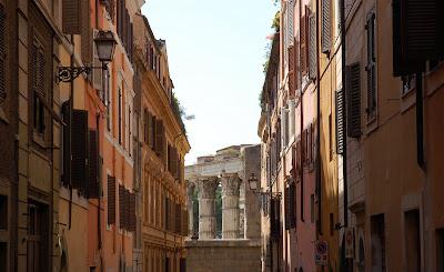 Via Baccina in Rome