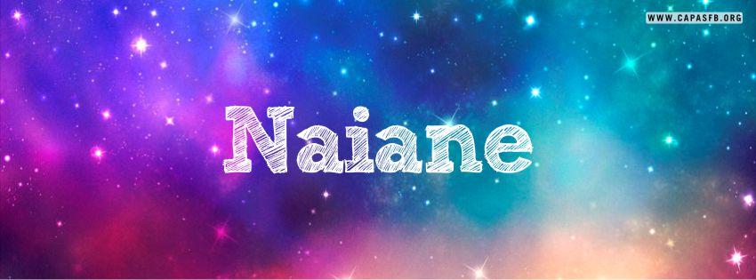 Capas para Facebook Naiane