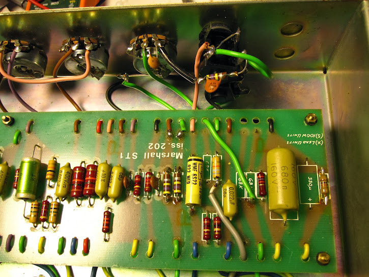 77 marshall jmp recap-need the right schematic | The Gear Page