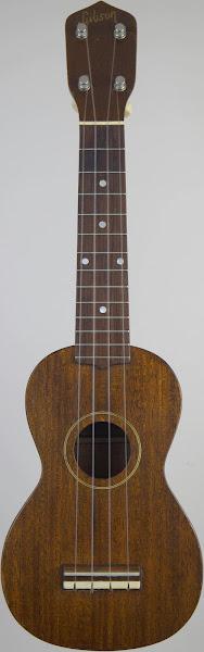 1959 Gibson s1 Soprano Ukulele Corner