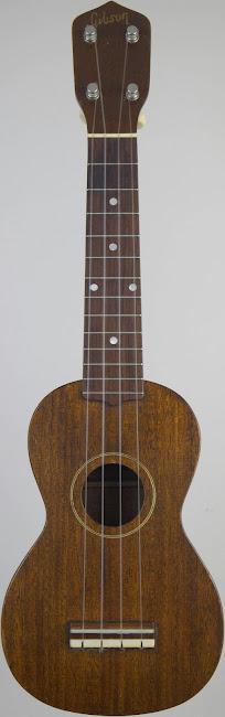 1959 style 1 Gibson soprano Ukulele