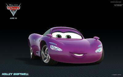 car violeta