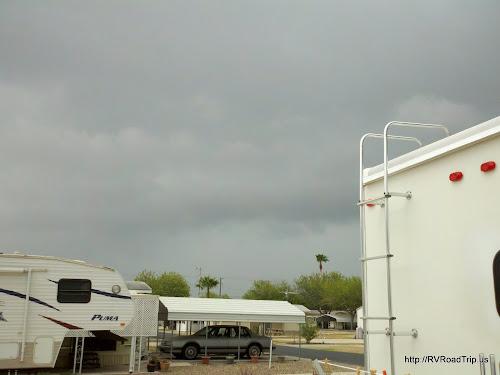 Rain on the way...