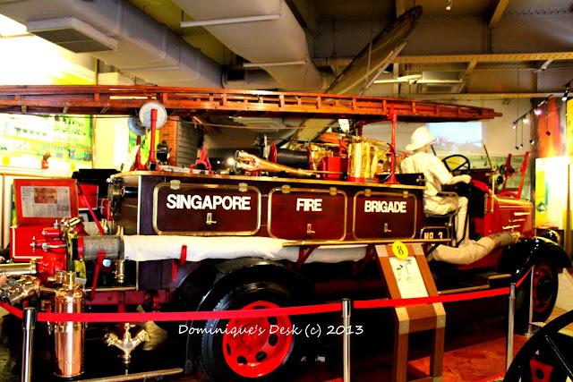 An ancient fire engine