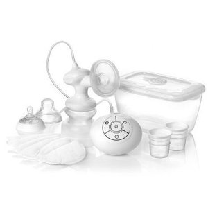 Review: Tommee Tippee Closer to Nature Electric Breast Pump (and microwave sterilizer)