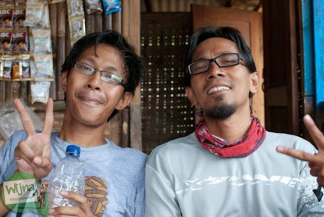 pesepeda sekaligus blogger kondang Yogyakarta bernama Om RD alias Om WaRM