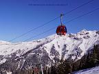 na zdjęciu gondola łącząca stacja narciarska Dorfgastein - Großarl