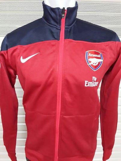 Jual Jaket Arsenal Side Line Merah Terbaru 2014