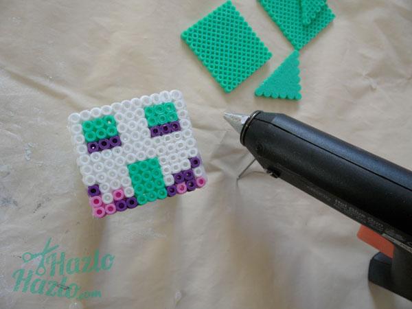 Casa 3D con Hama Beads
