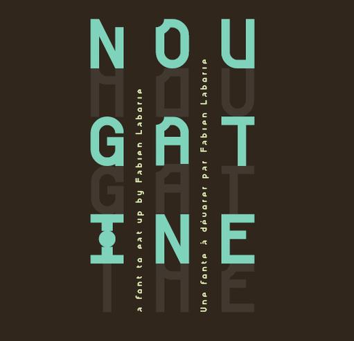 NOUGATINE Free Fonts