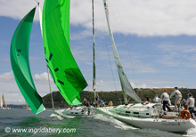 J/109s sailing Cork Week Ireland