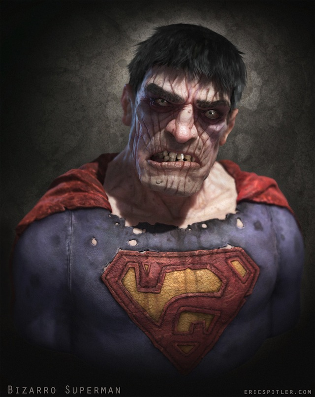Creepy Bizarro Superman