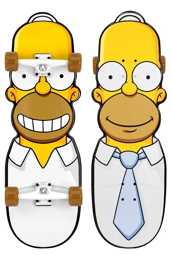 Homer Simpsons Skateboard