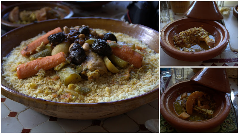 couscous, tagine, kylling