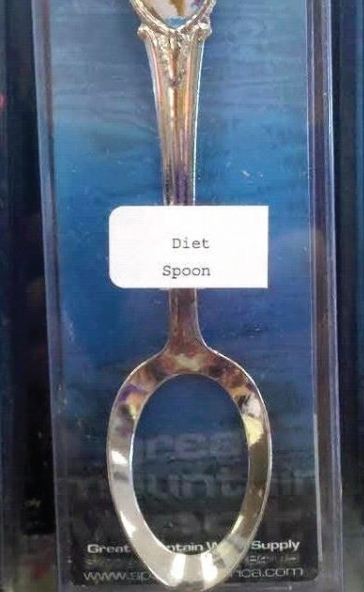 Funny Diet Spoon