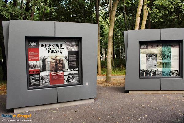 Gdańsk Westerplatte - wystawa plenerowa