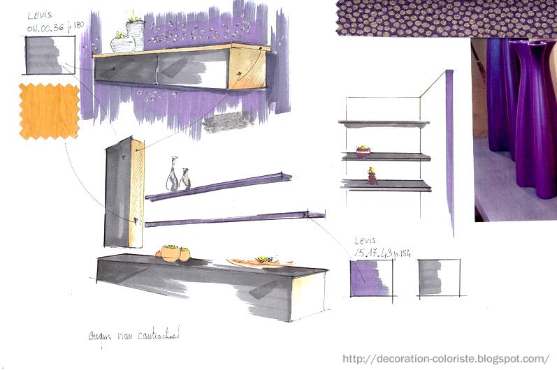 dessins croquis d coratrice vannes corinne le dorze agence de d coration d 39 int rieur. Black Bedroom Furniture Sets. Home Design Ideas