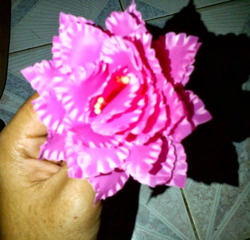 bunga plastik cantik