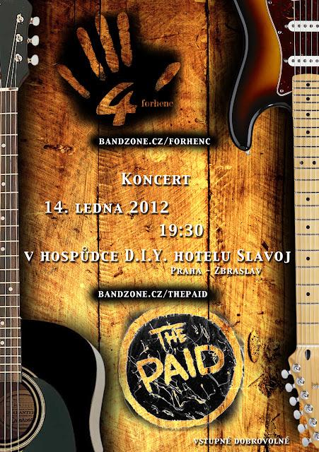 ThE Paid live at Slavoj - Jan 2012