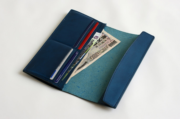 FERMA WALLET Long: blue