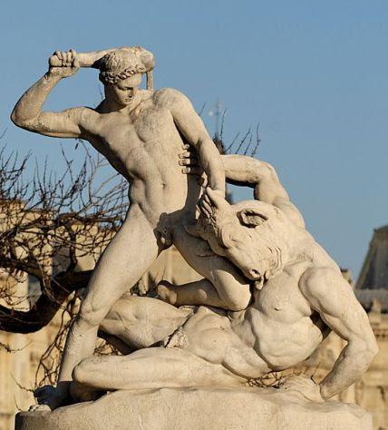 Theseus & Minotaur