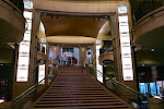 Hier schreiten bei den Oscars die Stars die Treppe hinauf.