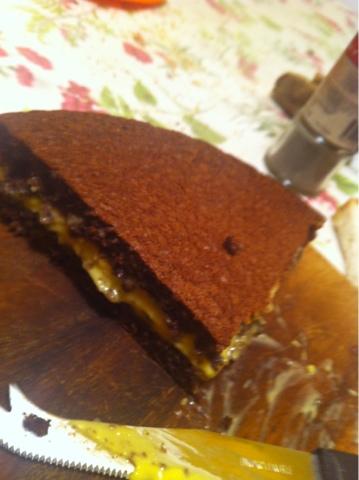 Torta Cacao Dukan.Torta Dukan Cacao Con Crema Pasticcera Dukan