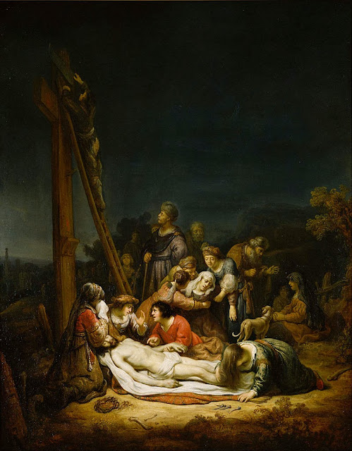 Govaert Flinck - The Lamentation - Google Art Project