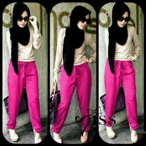 Hijab Ainun New Color Pink