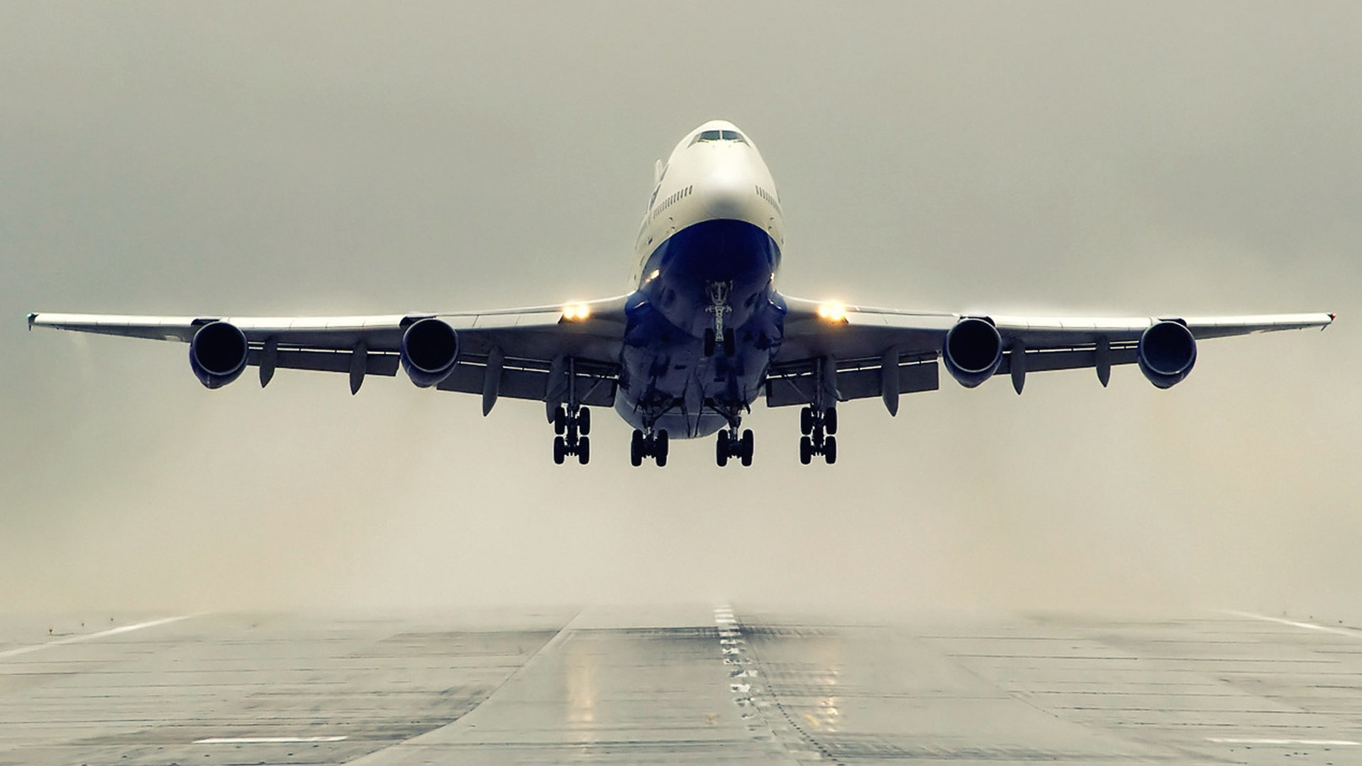 boeing aircraft take off mystery wallpaper. Black Bedroom Furniture Sets. Home Design Ideas