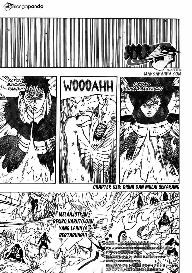 Manga naruto 628 page 01
