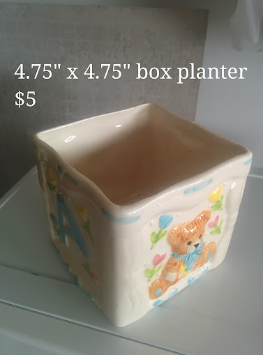 Box Planter for Floral Arrangements