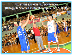 All-Stars Dalaguete Exhibition