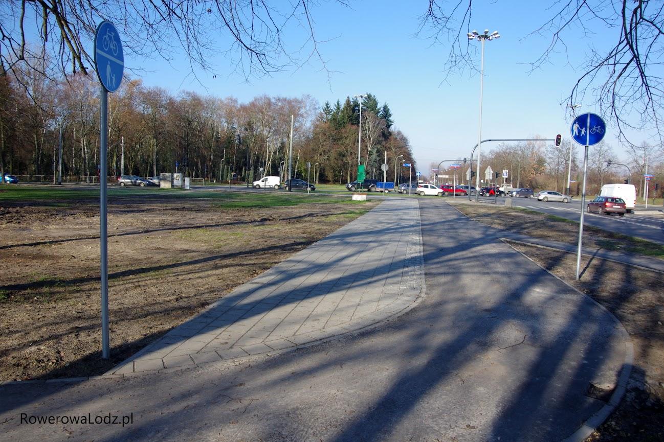 Wjazd do parku w stronę Fali