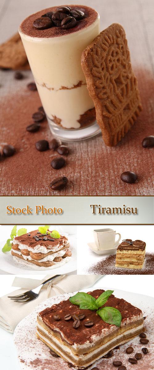 Stock Photo: Tiramisu 2