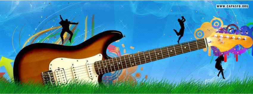 Capas para Facebook Guitarra
